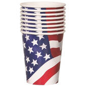 American Flag 9oz Cups