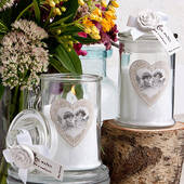 Apothecary Jar Candle Favors
