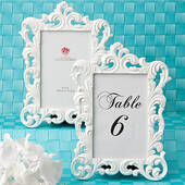 Baroque Design Frames  Table # Holders