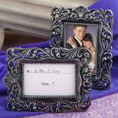 Baroque-Style Place Card Holder Picture Frame