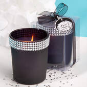Bling Collection Black Candle Holders