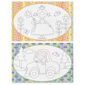 Children Coloring Mats