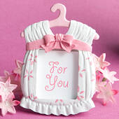 Cute Baby Themed Photo Frame Favors Girl