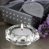 Diamond Candle Holder Favors