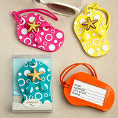 Flip Flop Luggage Tags