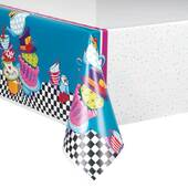 Mad Hatter Tea Party Plastic Tablecover - Rectangle