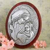 Madonna And Child Plaque