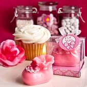 Pink Bootie Candles