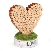 Rustic Heart Table Decoration