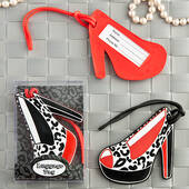 Shoe Design Luggage Tags In Decorative