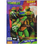 Teenage Mutant Ninja Turtles Jumbo Coloring Book