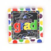 Graduation Dots Beverage Napkins