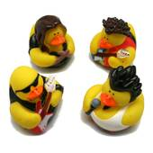 Rock Star Rubber Ducks