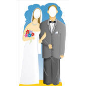 Wedding Couple Stand In Lifesized Standup