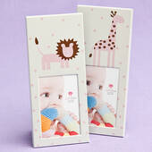 Animal Themed Baby Frames-Pink