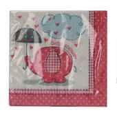 Baby Shower Girl Beverage Napkins