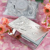 Butterfly Design Mirror Compact Favors