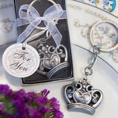 Crown Design Key Ring Favors