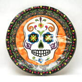 Day Of The Dead Dinner Plate