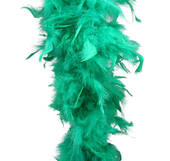 Green Feather Boa (6', 60 grams)