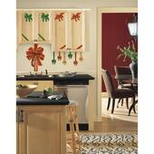 Holiday Bows Giant Decal