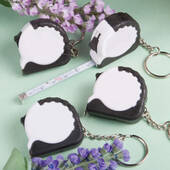 Key Chain Measuring Tape Favors
