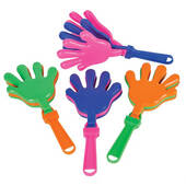 Large Plastic Hand Clappers