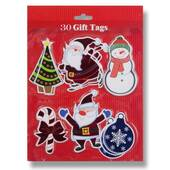 Metallic Christmas Gift Tags