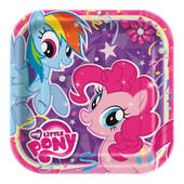 My Little Pony Paper Plates - 8 5/8""