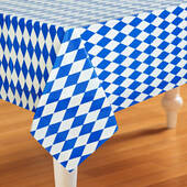 Oktoberfest Plastic Table Cover - Rectangle