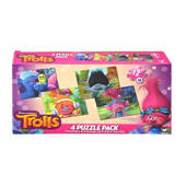 Trolls Four Pack Puzzles