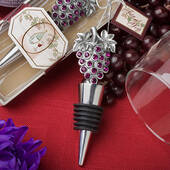 Vineyard Collection Wine Bottle Stopper Favors