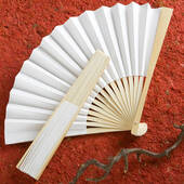 White Paper Fan In Box