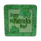 """St. Pat's Shamrocks And Clovers Plates - 8 5/8"""""""