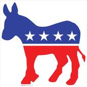Democratic Donkey Lifesized Standup
