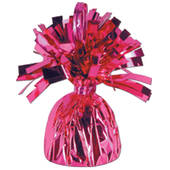Hot Pink Foil Balloon Weight
