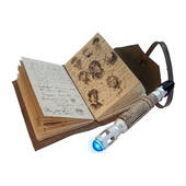 Journal Of Impossible Things And Sonic Screwdriver Pen