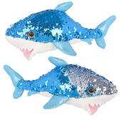 "10"" Reversible Sequin Shark"