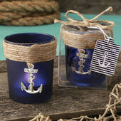 Anchor Design Glass Votive
