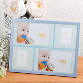 Baby Boy Collage Aluminum Frame