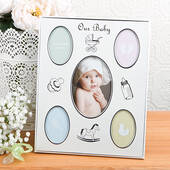 Baby Collage Aluminum Frame