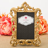Baroque Gold Metallic Frame