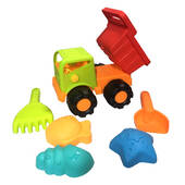 Beach Toy Dump Truck With Toys