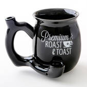 Black Roast And Toast Tea Mug