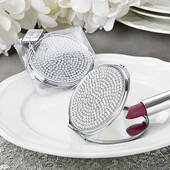 Bling Collection Metal Compact Mirror