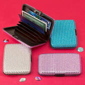 Bling Wallet Credit Card Holder