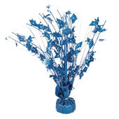 Blue Graduation Balloon Centerpiece