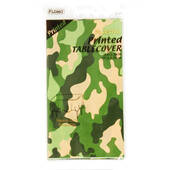 Camo Plastic Tablecover - Rectangle
