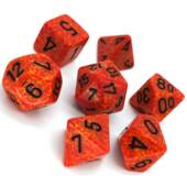 Chessex - Fire Polyhedral 7 Die Set
