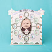 Circus Tent Baby Frame My First Year Collage